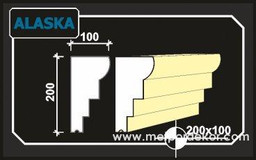 alaska denizlik söve modeli 20cm x 10cm